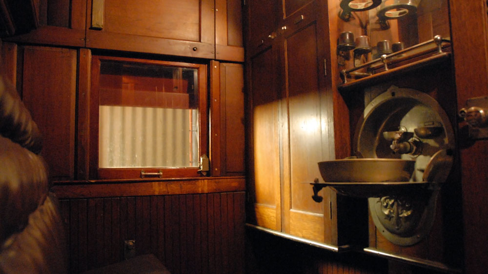 1920s luxury aboard Special Car No. 3