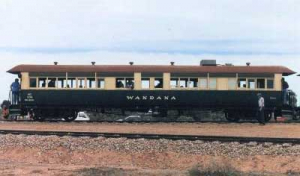 South Australian Railways carriage 209