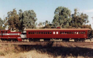 South Australian Railways carriage 207