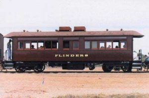 South Australian Railways carriage 167 / Flinders
