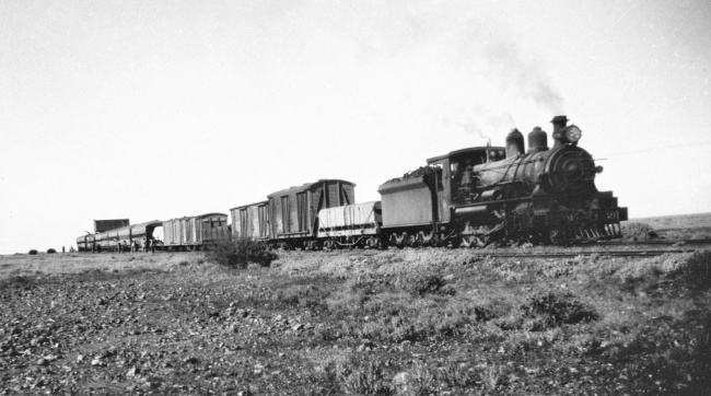 The Ghan at an unknown location - possibly Pedirka
