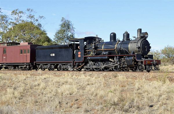 Commonwealth Railways NM class locomotives - Pichi Richi Railway