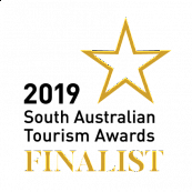 SATIC 2019 Tourism Awards Finalist logo